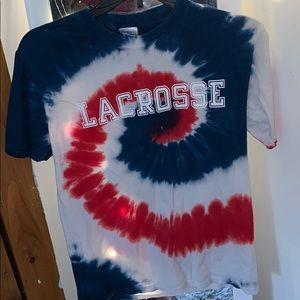 Tops - Lacrosse Tie Dye Tee